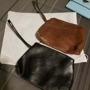 Handbags - 2 LARGE ZIPPERED CHAIN PURSES/FREE WITH A PURCHASE